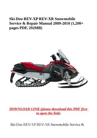 brp gsx 600 2010 manual shop