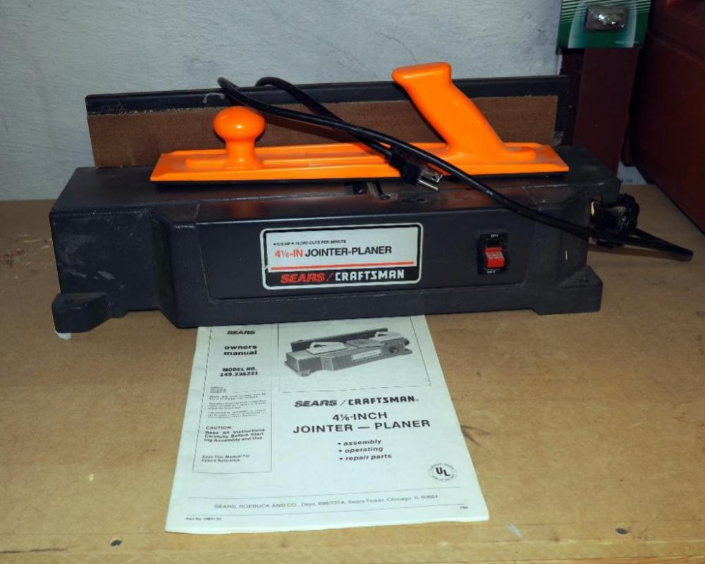 craftsman 6 1 8 benchtop jointer model 351.217880 user manual
