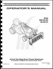 cub cadet 30 inch manual