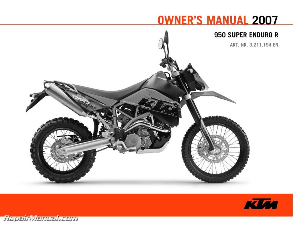 ktm 950 super enduro repair manual