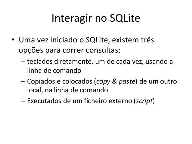 manual sqlite3 in windows cmd