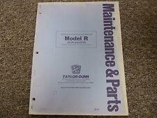 taylor dunn b210 parts manual