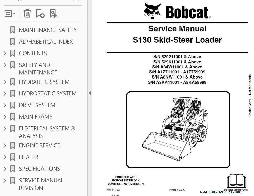 1835c skid steer service manual