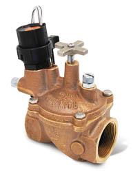 nelson sprinlker valve won open manually