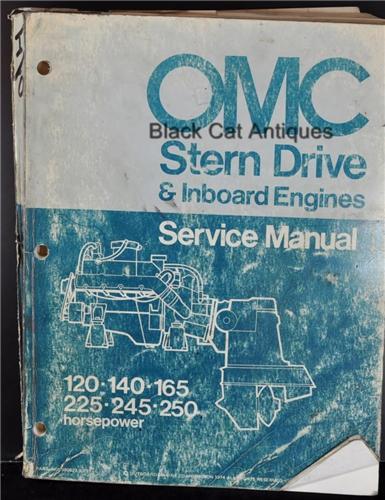 omc sail drive service manual