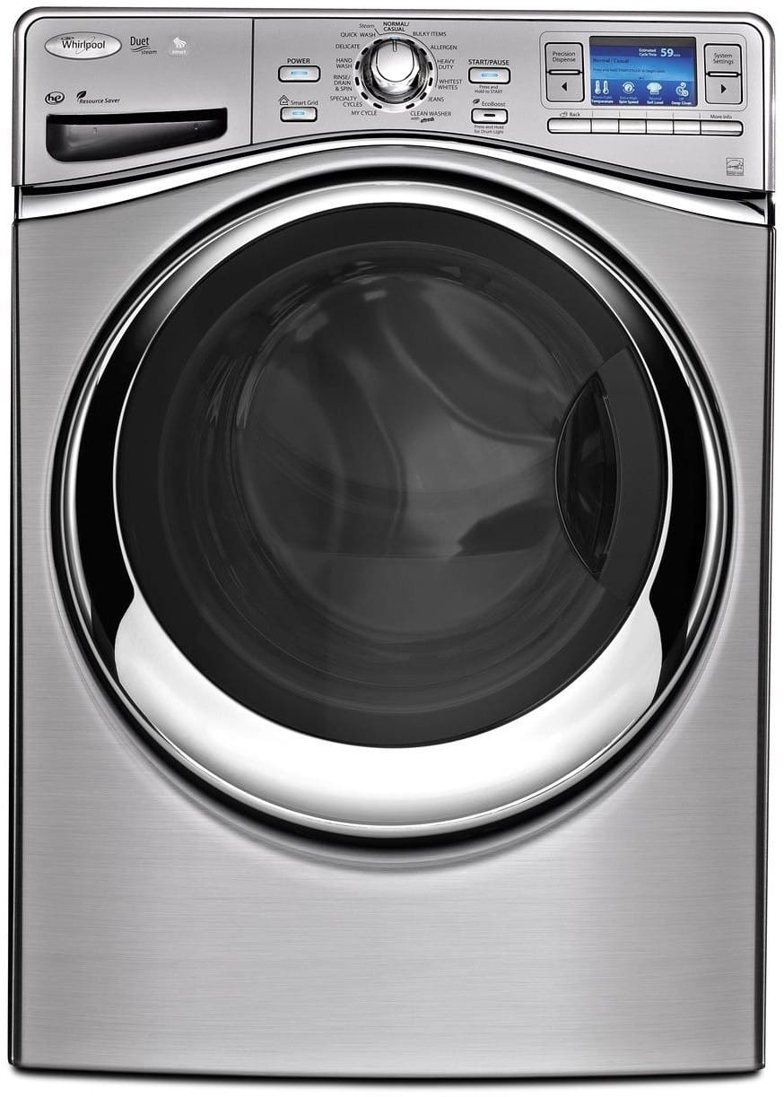 whirlpool front loading automatic washer manual