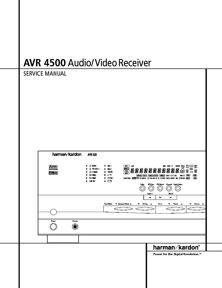 harman kardon avr 2800 manual