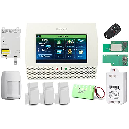 honeywell lynx wireless home security system manual