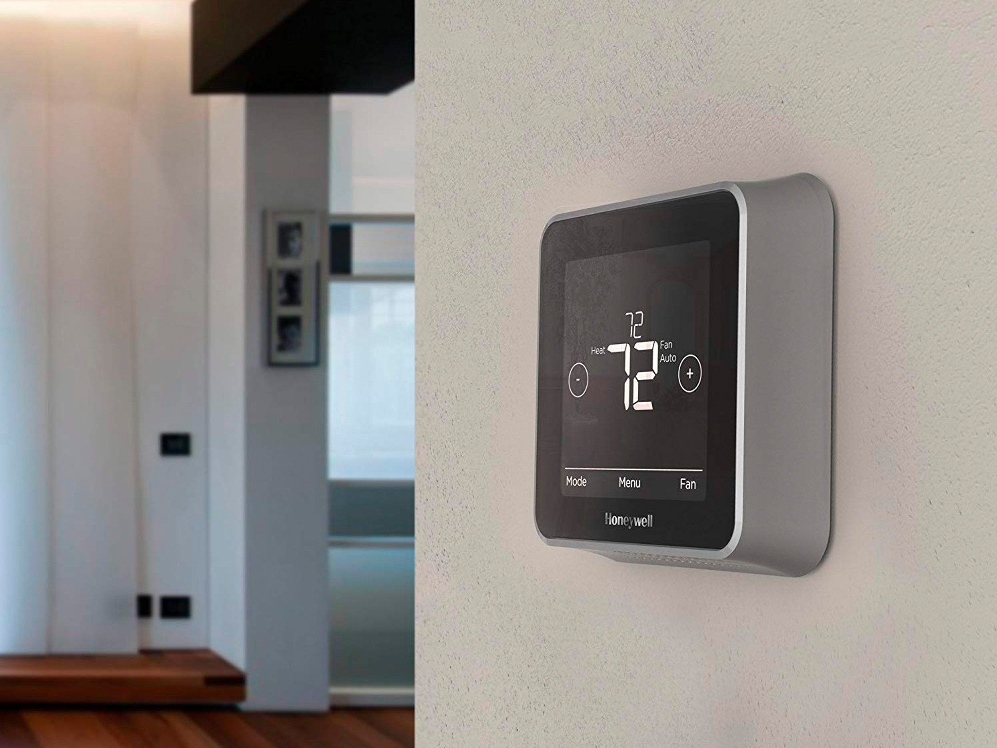 how to set honeywell thermostat manually