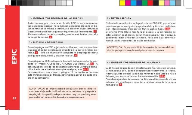 manual instrucciones jane slalom pro cochecito