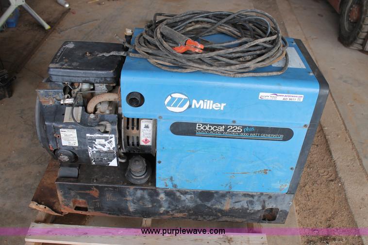miller bobcat 225 user manual