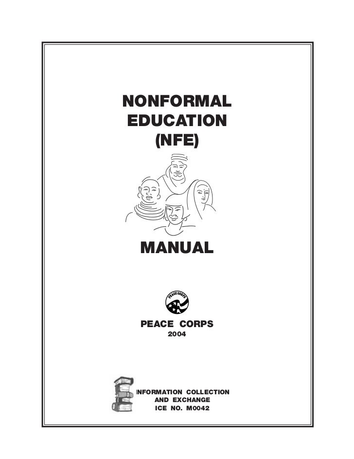 peace corps nonformal education manual ice m0042
