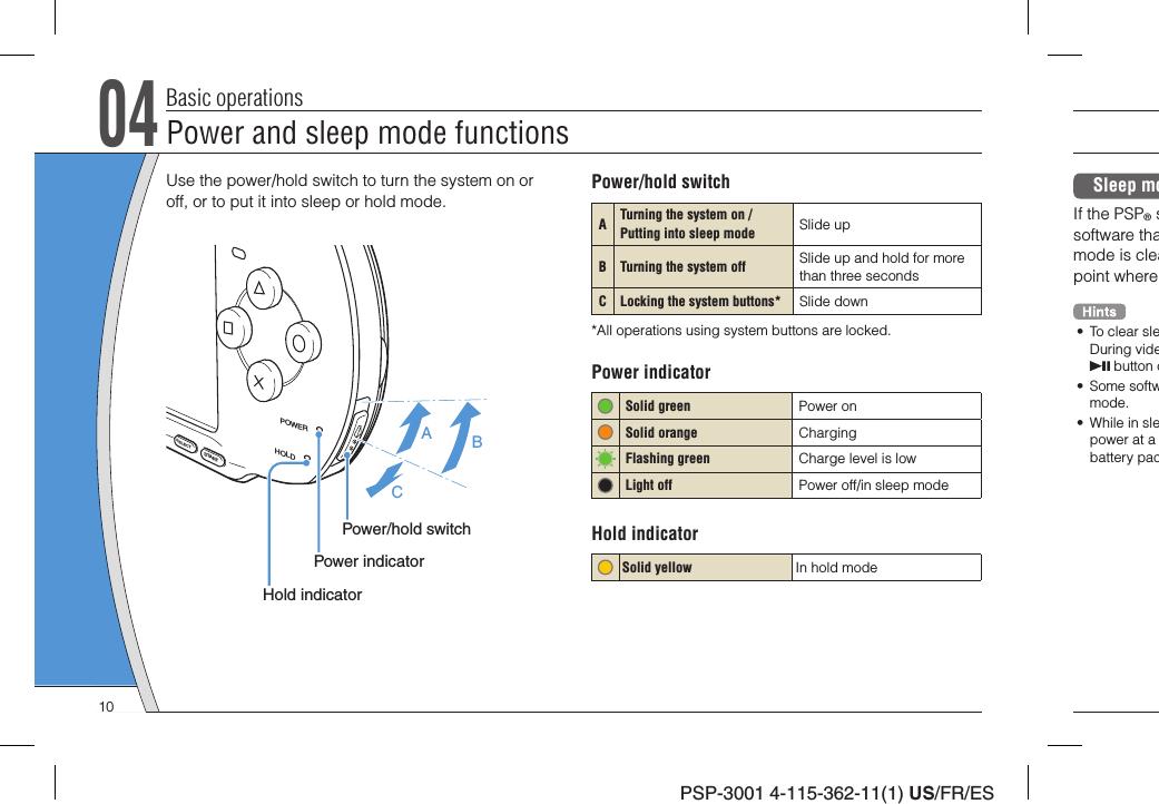 play station portable manual pdf