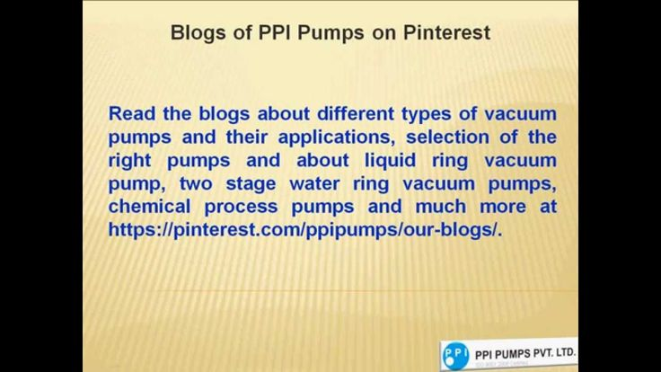ppi water ring vacuum pump manual