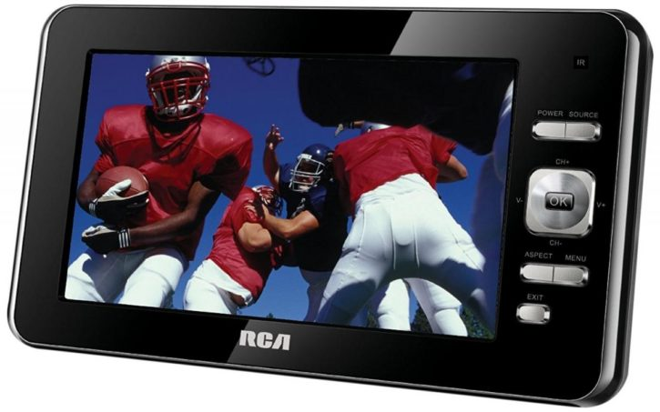 rca 7 portable lcd tv dptm70r manual