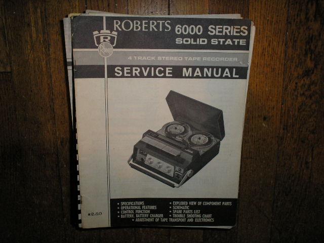 roberts 1057 manual reel to reel