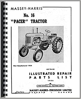 shop manual for massey harris 50