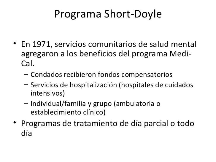 short doyle medi-cal manual