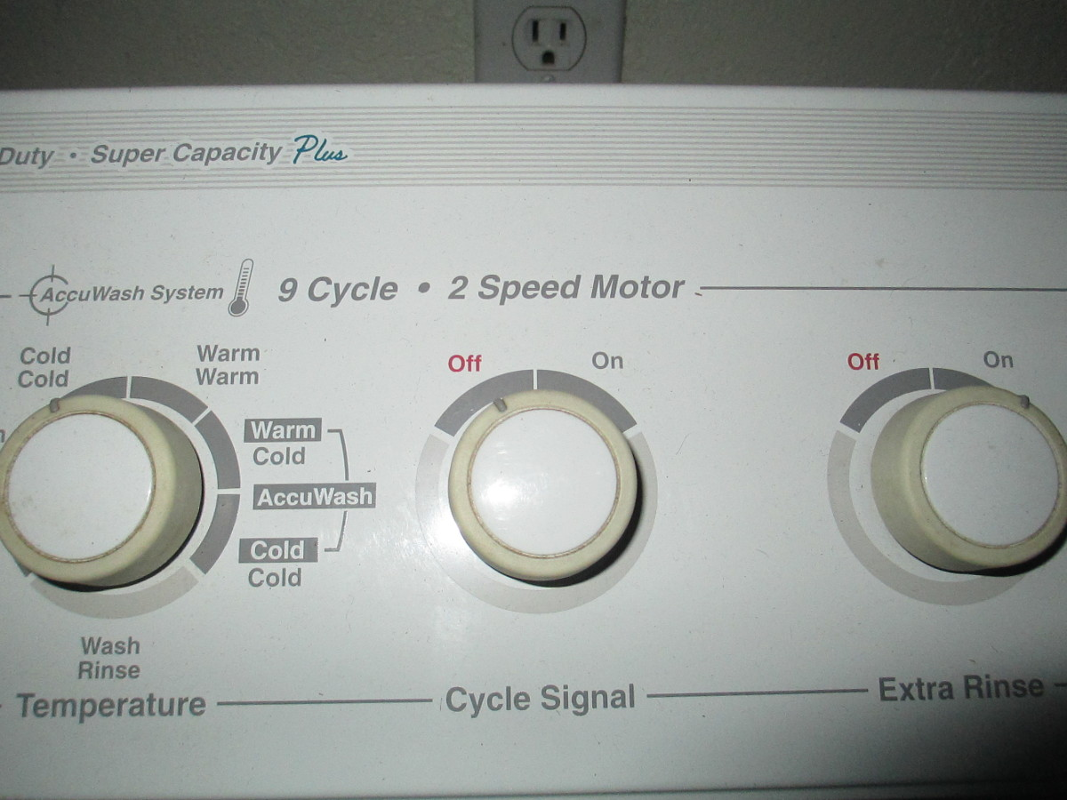 temperature for washing and rinsing manually
