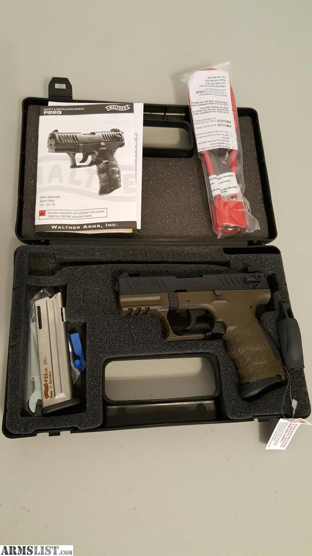 walther p22 manual safety problems