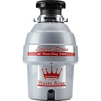waste king l-2600 legend series 1 2 hp manual