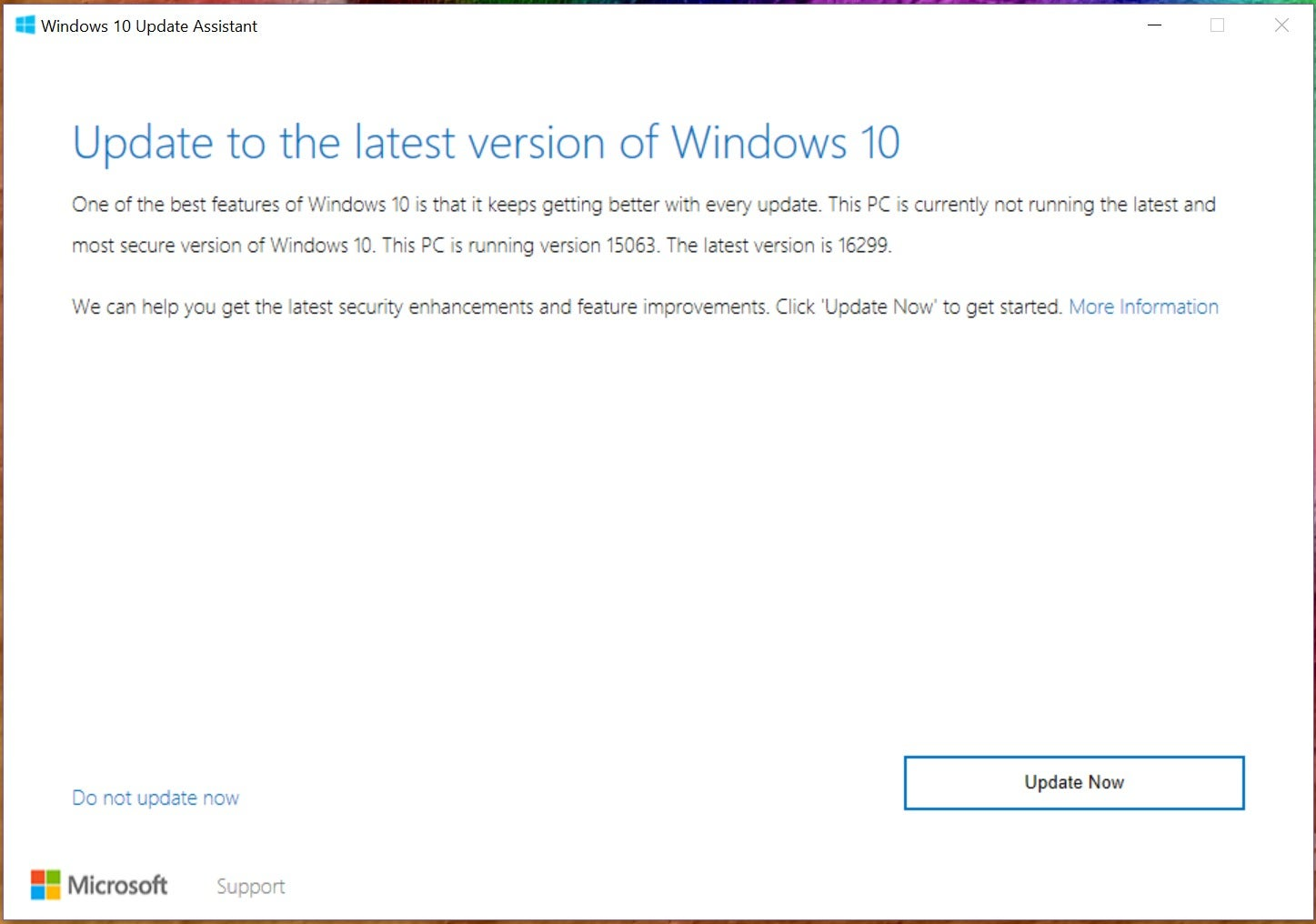 windows 10 fall creators update download manually