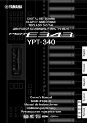 yamaha ypt 310 manual pdf